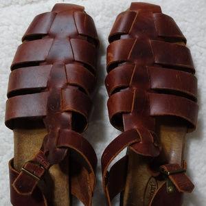 Rockport Women's Brown Sandals w/ Strap Size 8.5M